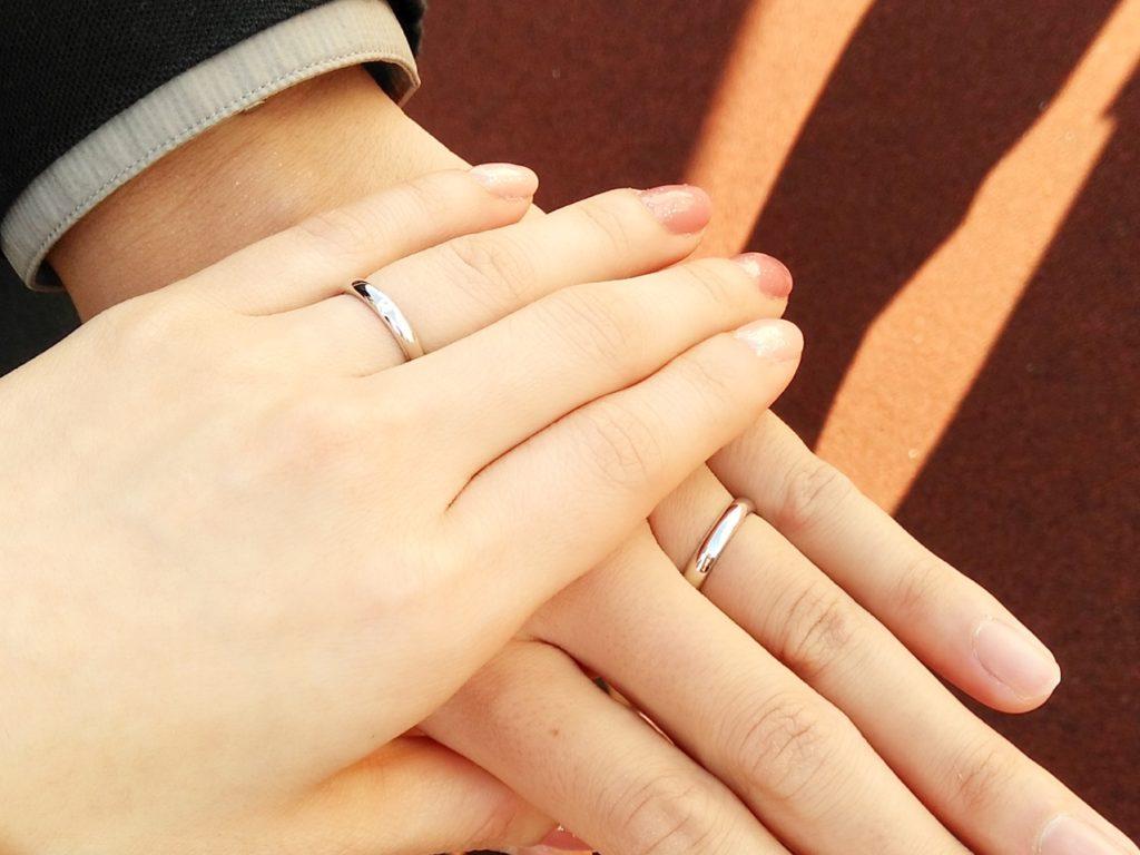 銀座和光 結婚指輪 マリッジリング