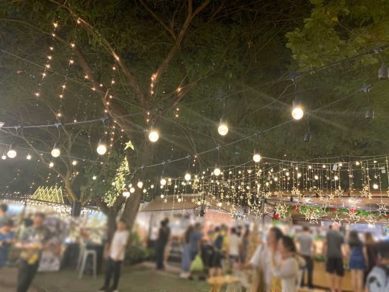 バンコク旅行記 ナイトマーケット アートボックス