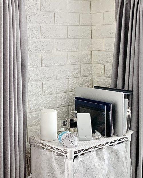 レンガ調 クッションシート 壁DIY 賃貸物件 貼る壁紙